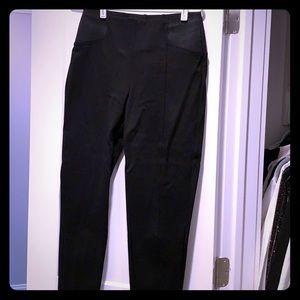 Zara Basic Black stretch pant